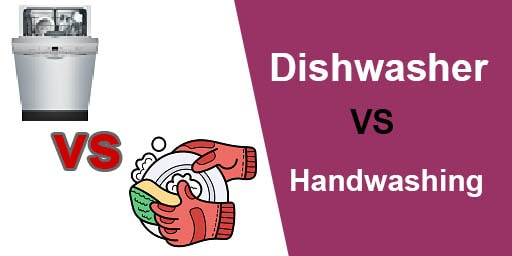 Dishwasher vs hand washing