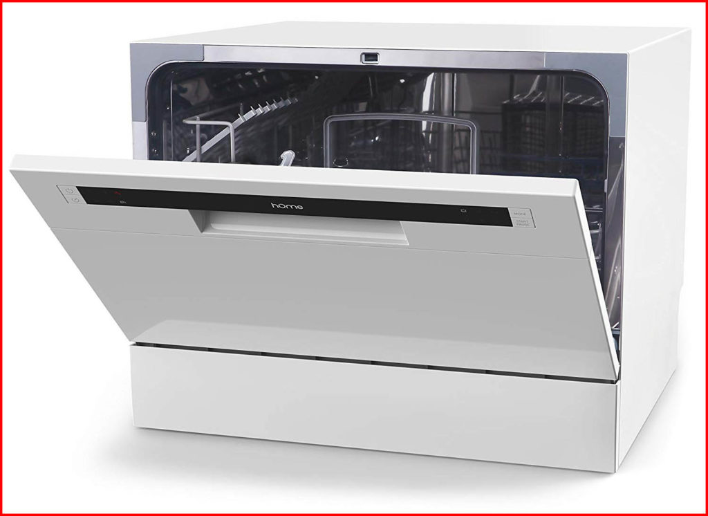 Features of Homelab Compact Countertop Dishwasher