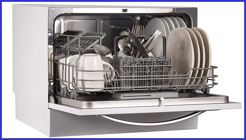 Compact Countertop Dishwasher BCD6W