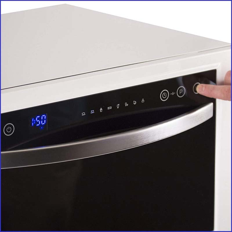 Led Display of Countertop Dishwasher BCD6W