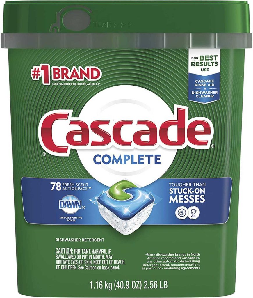 Cascade Dishwasher Pods