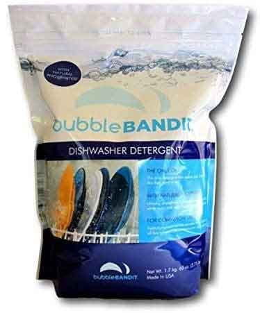 Bubble Bandit Dishwasher Detergent for Spotless Dishes