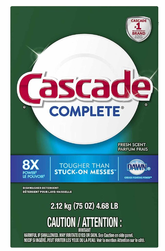 Cascade Complete Powder Dishwasher Detergent