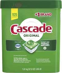 Cascade Original Dishwasher Pods