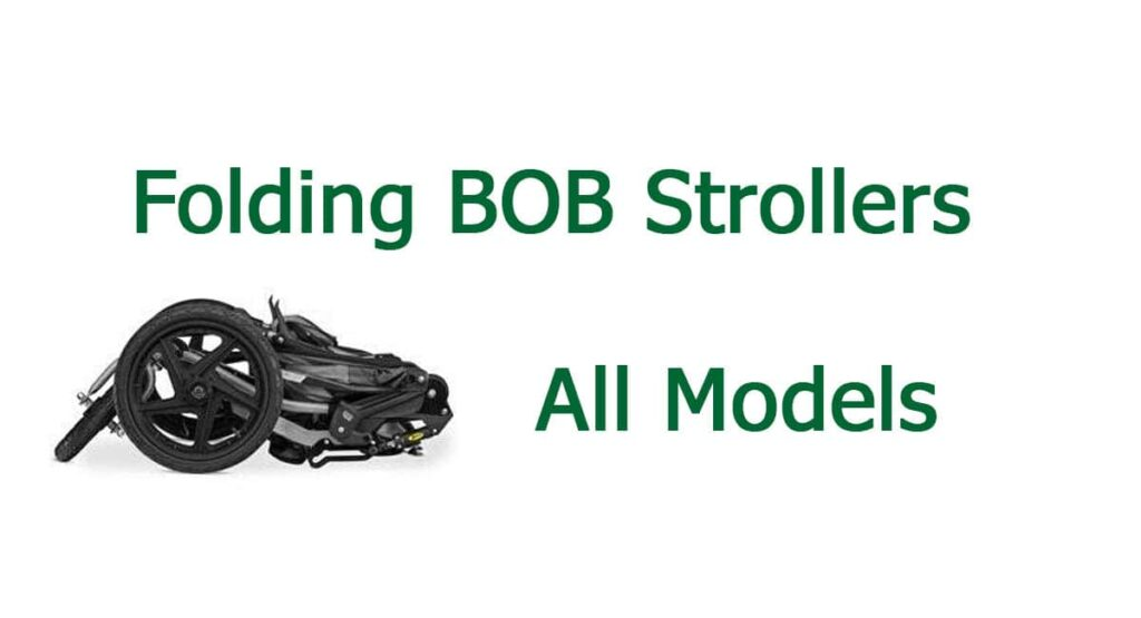 How To Collapse Bob Stroller?
